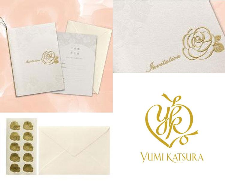 YUMI KATSURAの招待状写真